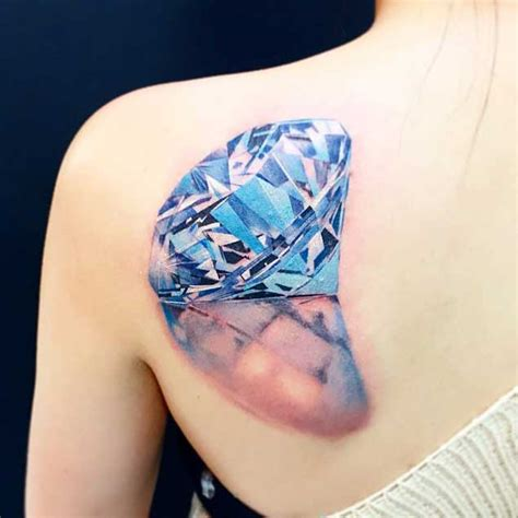 tattoo diamond blue 21 expertly executed diamond tattoos tattooblend