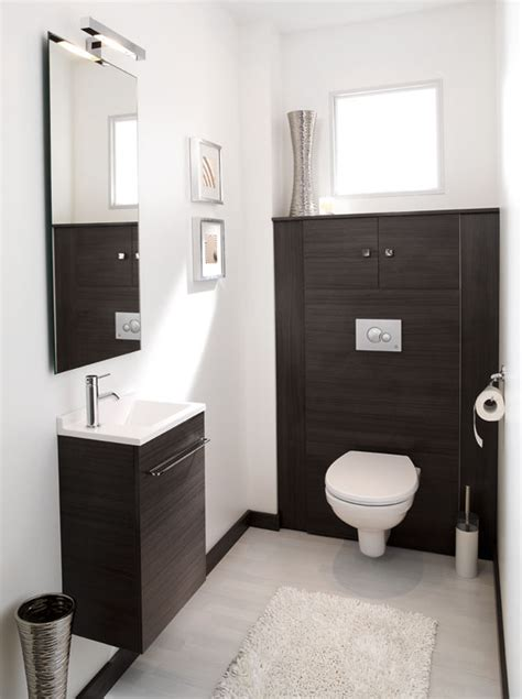 Modern Toilet by Les Meubles D 233 Co D Ambiance Bain