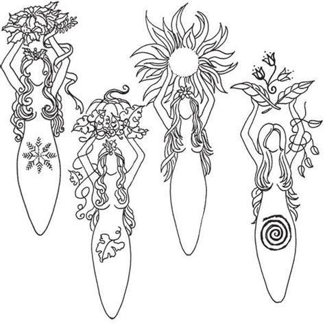 free coloring pages of wiccan