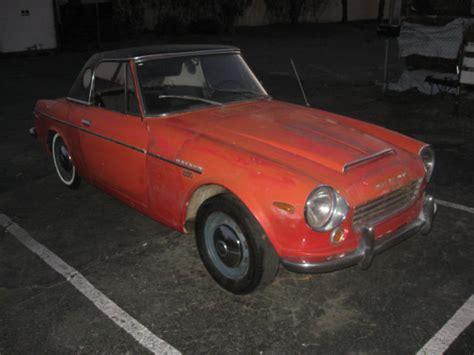 Datsun 1600 Roadster Parts by 1969 Datsun Roadster 1600 Spl311