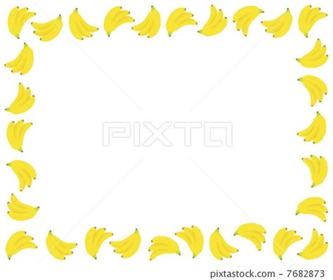 banana border clip art – 101 clip art