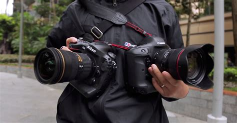 canon nikon canon vs nikon modern lens magazine