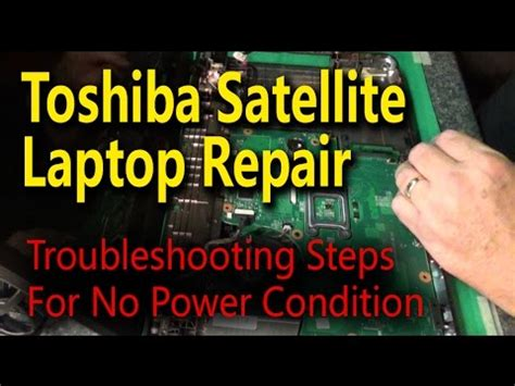 how to fix laptop not powering on, good battery, power