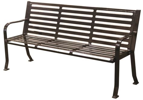 school outdoor furniture horizontal slatted bench it provides a unique high tech look