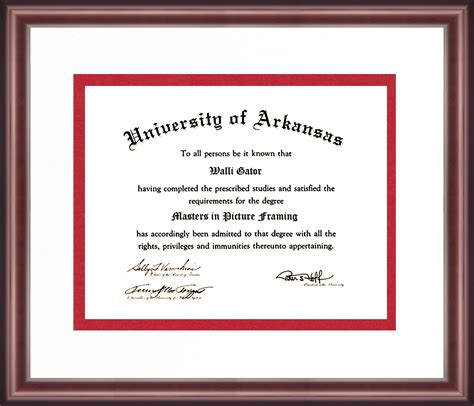 Arkansas Tech Mba Program by Contemporary Diploma Picture Frames Image Collection