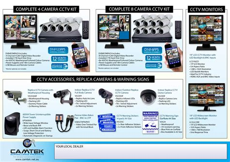 leaflet design for cctv flyer design for robert by freelance graphic designer