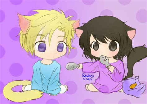 haruhi and tamaki want some by basabeo on deviantart