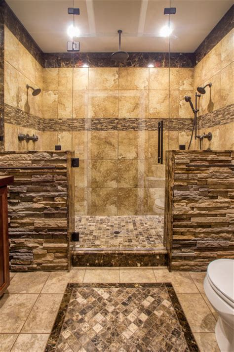 bathroom tile ideas for showers his master shower bathroom bathroom other by