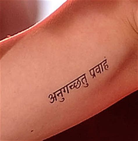katy perry and sanskrit tattoos