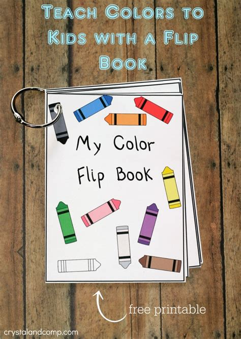 learning colors learning colors picture book ages 2 7 for toddlers preschool kindergarten fundamentals series books teach colors to flip book