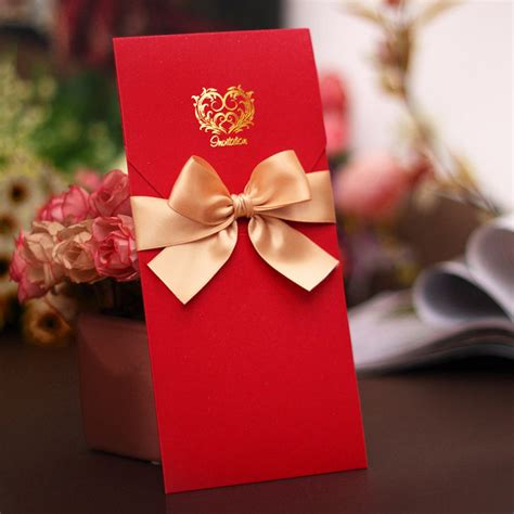 China Decorations Home graceful chinese red an gold ribbon free customization
