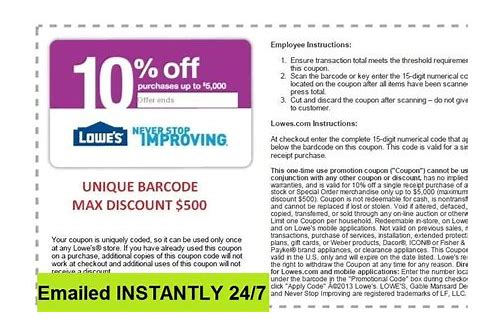 instant upc codes coupon