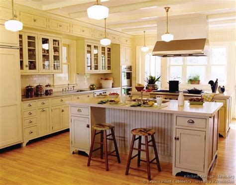 Victorian Kitchen Island | victorian kitchens cabinets design ideas and pictures