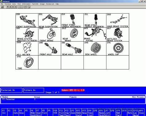 new subaru parts subaru usa proquest new spare parts catalog cars catalogues