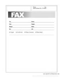 Basic Fax Cover Letter fax coverpage template fax cover page template 点力图库