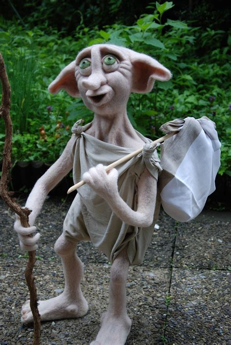 House Elf Needle Felt Pinterest