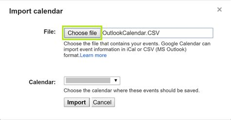 Calendar Import How To Sync And Outlook Calendars
