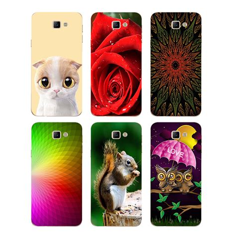 case  samsung galaxy  prime    gf  cover flower plants hard plastic