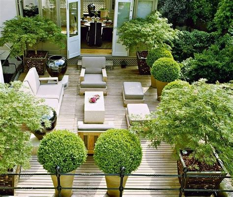 terrace gardening london terrace garden balcony pinterest