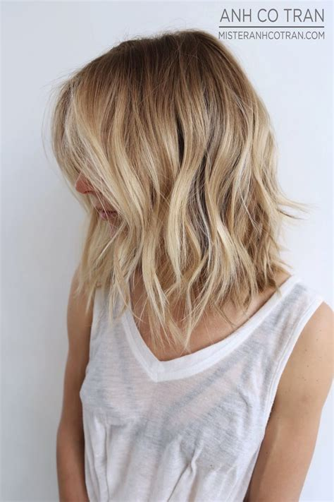 textured layered wavy hair by anh co tran hair with a 25 best ideas about blonde waves on pinterest blonde