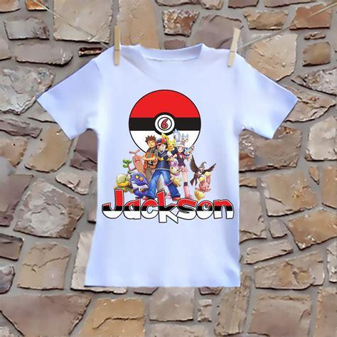 pokemon birthday tee shirt boys birthday tee boys pokemon shirt rescue bots birthday tee