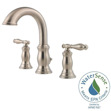 price pfister hanover kitchen faucet pfister hanover widespread bathroom faucet brushed nickel