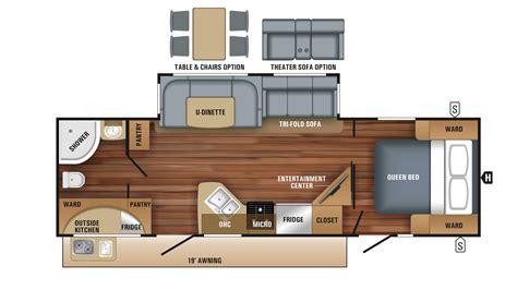 jayco cer trailer floor plans jayco floor plans 2018 jayco white hawk 27rb cer ebay