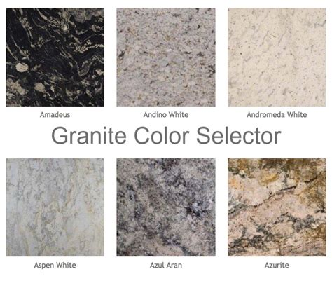 Common Granite Countertop Colors by Granite Counter Top Tile Countertops Colors Care