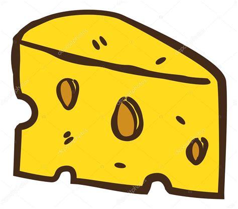 imagenes animadas queso doodle de queso de dibujos animados vector de stock