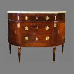 Commode Louis 16 by Commode De Forme Demi Lune D 233 Poque Louis Xvi Estill 233 E