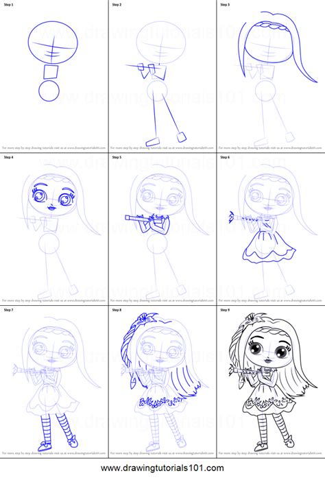 little charmers coloring pages games how to draw posie from little charmers printable step by