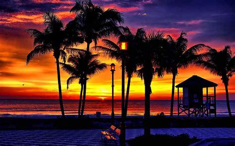 tropical beach sunrise wallpaper 1080p hd i hd images