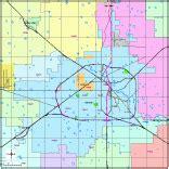lubbock zip code map editable lubbock tx city map with roads highways zip