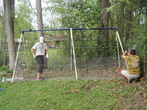 swing set instructions building a coop from a swing set my chickens pinterest