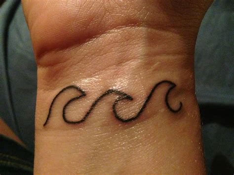 wave tattoo wrist best 25 wave wrist ideas on small wave