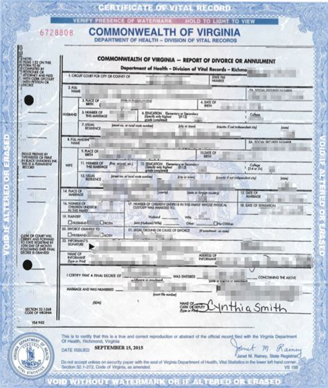 Va Divorce Records Virginia Apostille Apostille Service By Apostille Net