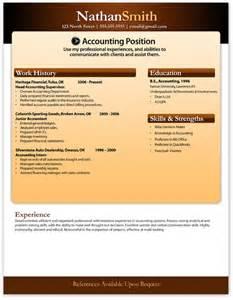 free modern resume template 5 free resume templates