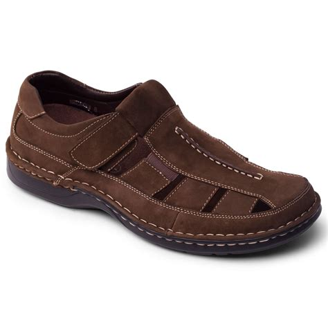 mens leather sandals padders breaker mens leather sandals from charles