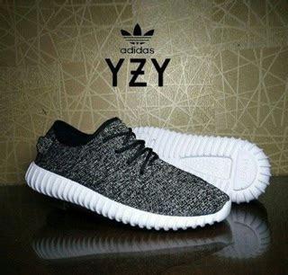 Sepatu Adidas Yezzy Boost Abu by Sepatu Adidas Yeezy Boost 350 Warna Fullblack Hitam