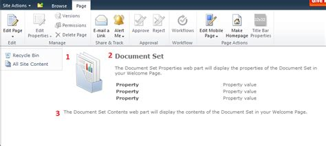 Sharepoint Document Sets