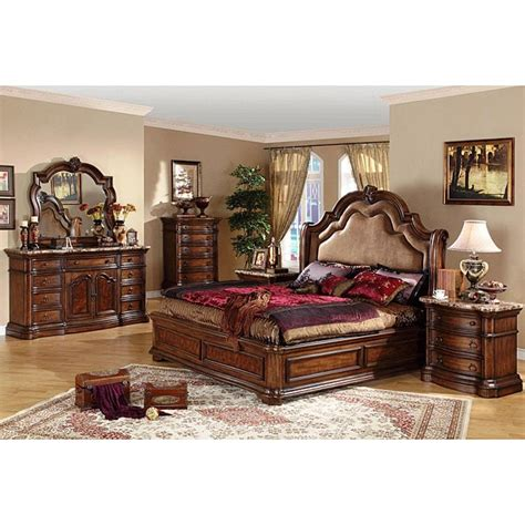 Bedroom King Size Sets San Marino 5 California King Size Bedroom Set