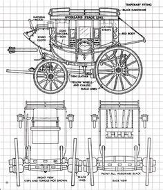 plans  western concord  stagecoach wagons