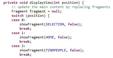 reset android fragment android navigation drawer fragment state stack overflow