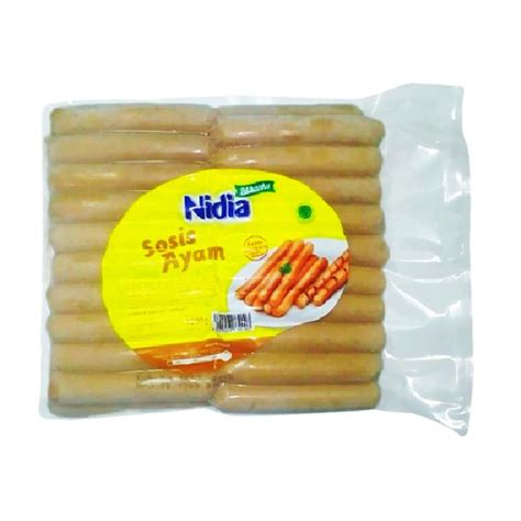 Ch Sosis Ayam 1kg 40 Pcs jual daily deals nidia sosis ayam breakfast 1 kg