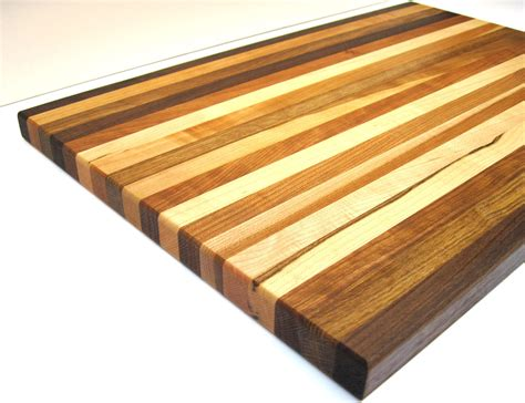 Handmade Wooden Cutting Boards - handmade wood cutting board large multi species