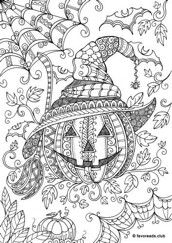 detailed pumpkin coloring page coloriage halloween archives artherapie ca