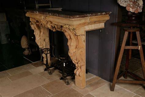 terracotta fireplace a terracotta fireplace with a royal marble top at