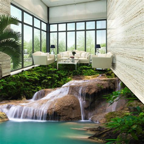 bedroom waterfalls aliexpress com buy newest dot design drawing 3d room