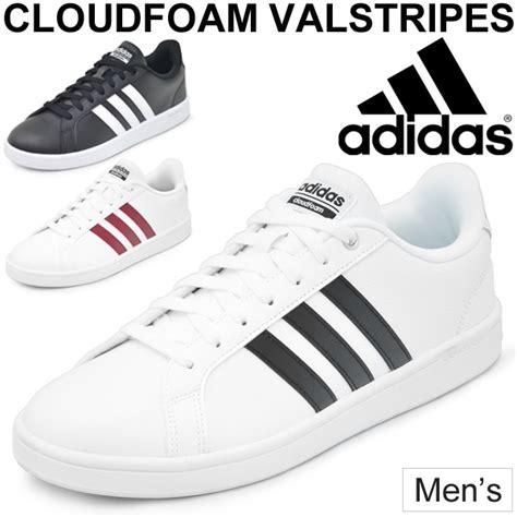 apworld sneakers men adidas adidas cloudfoam valstripes