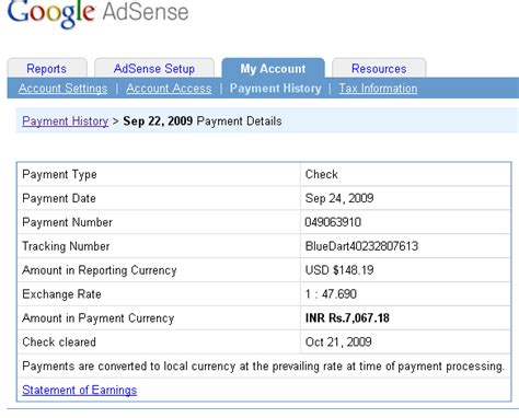 adsense payment earn money with google adsense payment proofs